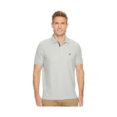 Nautica ノーチカ メンズ 男性用 ファッション ポロシャツ Solid Deck Polo - Grey Heather