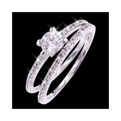 リング 指輪  ハーフエタニティーエレガントリング IA607