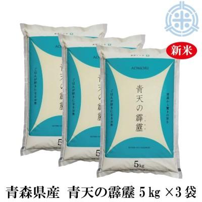新米 令和2年産 青天の霹靂 (へきれき) 15kg (5kg×3袋) 白米 真空パック対応 送料無料