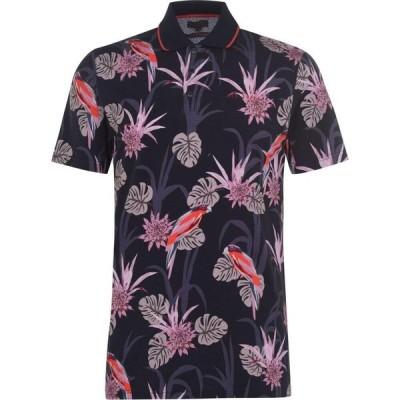 テッドベーカー Ted Baker メンズ ポロシャツ トップス Plunk Polo Shirt Navy