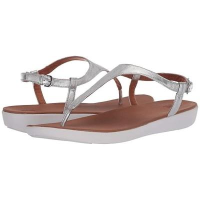 FitFlop Lainey Toe-Thong Back-Strap Sandal レディース サンダル Silver