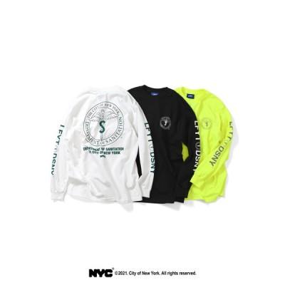 LFYT X DSNY エルエフワイティー × デイーエスエヌワイ COMMUNITY SERVICES L/S TEE 長袖 Tシャツ LS210102