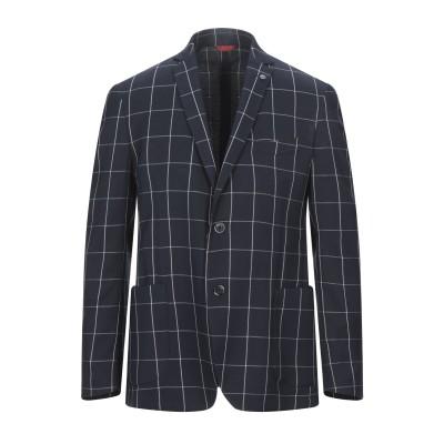 NO NAME テーラードジャケット ブルー 44 ポリエステル 84% / レーヨン 14% / ポリウレタン 2% テーラードジャケット