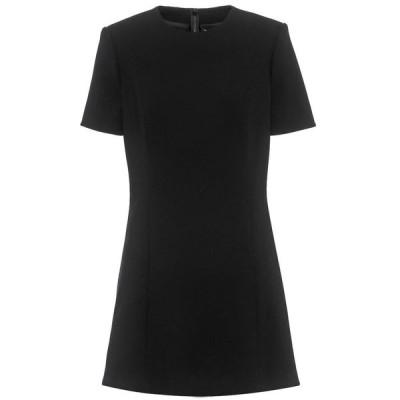 イヴ サンローラン Saint Laurent レディース ワンピース ワンピース・ドレス wool minidress Noir