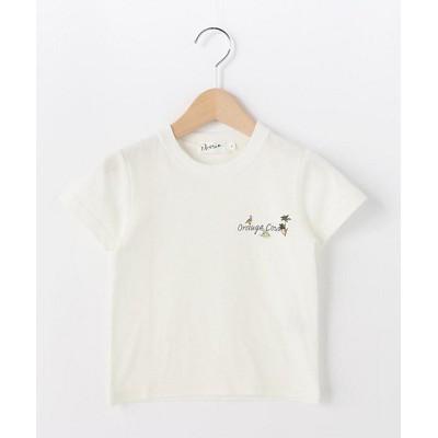 <DESSIN(Baby&Kids)/デッサン (キッズ)>【100-140cm】オレンジカウンティロゴ天竺Tシャツ シロ004【三越伊勢丹/公式】