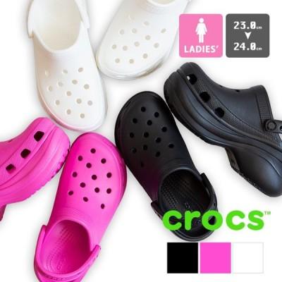 【ホワイトデー】【SALE!!】【 crocs クロックス 】 Womens classic bae clog 厚底 クロッグ サンダル 206302 /20SS