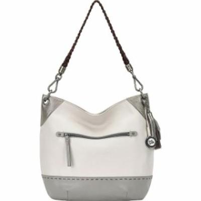 The Sak ザサク ファッション バッグ The Sak Indio Bucket - Shadow Sparkle Block Leather Handbag NEW