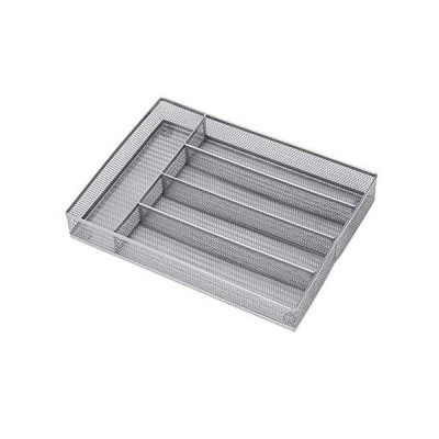 Metal Mesh Cutlery Tray Open Drawer Organizer Insert HaWare Cutlery Organiz