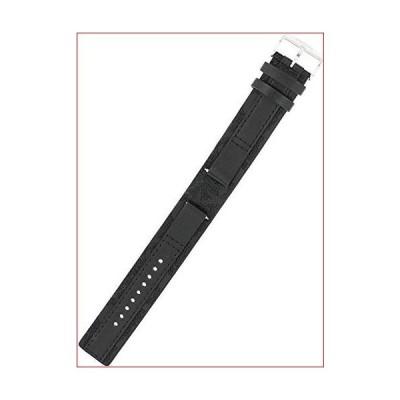 Fossil レザー腕時計ベルト - ブラック