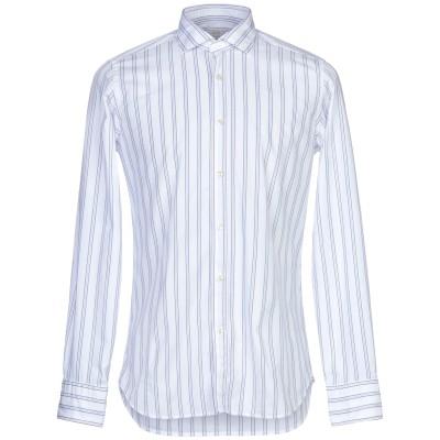 CALIBAN 820 シャツ ブルー 40 コットン 100% シャツ