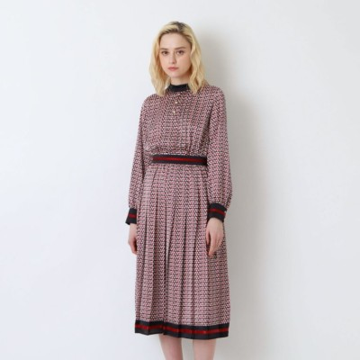 ◆◆ジオメトリック ライン ドレス