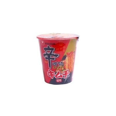 農心 辛ラーメン キムチ カップ 68g×12個セット/ 辛ラーメン カップラーメン