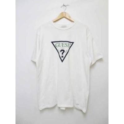 【中古】ゲス GUESS グリーンレーベル トライアングル ロゴ Tシャツ GRFW17-001【ブランド古着ベクトル】200903 104