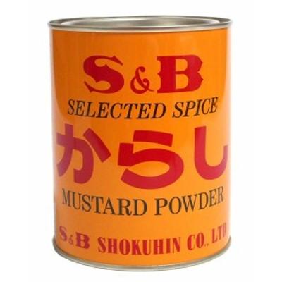 ★まとめ買い★ SB からし 缶入 400g ×20個【イージャパンモール】