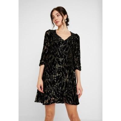 ヤス ワンピース レディース トップス YASRITA 3/4 DRESS SHOW - Cocktail dress / Party dress - black/gold/silver