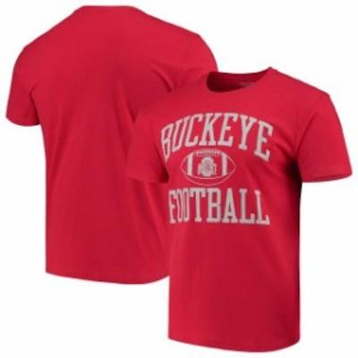 Scarlet & Grey スカーレット アンド グレイ スポーツ用品  Ohio State Buckeyes Neutral Zone T-Shirt  Scarlet