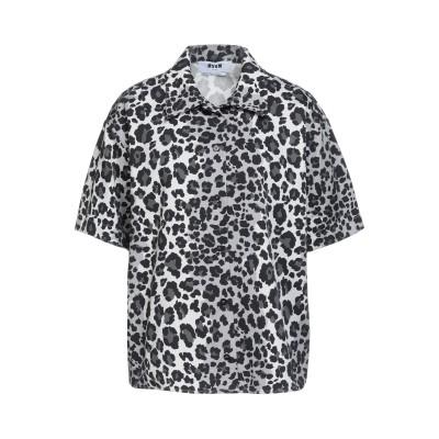 エムエスジーエム MSGM シャツ グレー 42 コットン 100% シャツ