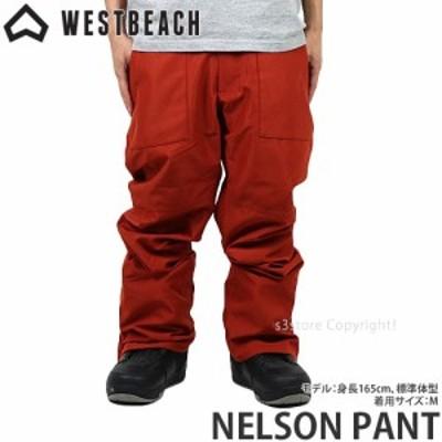 21model ウエストビーチ NELSON PANT カラー:PAPRIKA