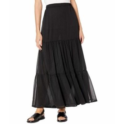 ミンクピンク レディース スカート ボトムス Narissa Chiffon Maxi Skirt Black