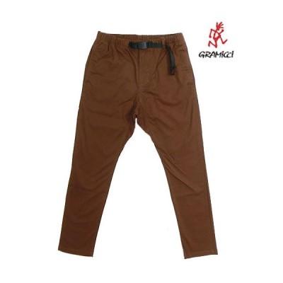 グラミチ Gramicci 8818-FDJ  NN PANTS TIGHT FIT  ニューナロータイトフィット Brown ブラウン