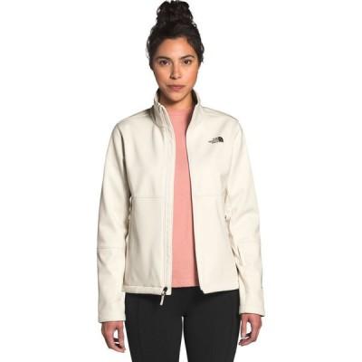 ザ ノースフェイス The North Face レディース ジャケット ソフトシェルジャケット アウター Apex Risor Softshell Jacket Vintage White