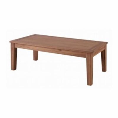 センターテーブル L 幅110×奥行55×高さ38 天然木化粧繊維板 アカシア 天然木 アカシア オイル仕上(代引不可)【送料無料】