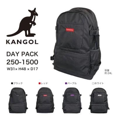 KANGOL( カンゴール) リュックDパックレディース メンズ ブラック カジュアル通勤通学アウトドア 250-1500