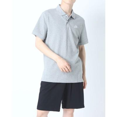 ナイキ NIKE メンズ 半袖ポロシャツ ナイキ CE マッチアップ PQ ポロ CJ4457-063 (グレー)