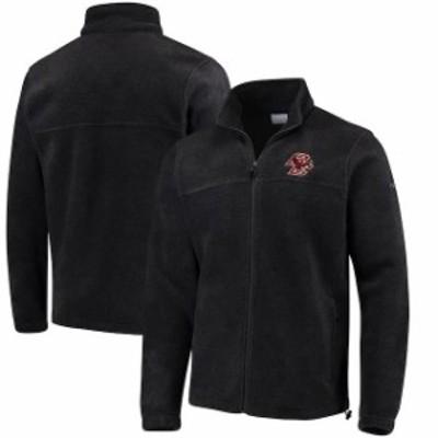 Columbia コロンビア スポーツ用品  Columbia Boston College Eagles Flanker Full-Zip Fleece Jacket - Charcoal
