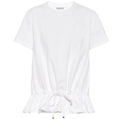 モンクレール Moncler レディース Tシャツ トップス Cotton-jersey T-shirt