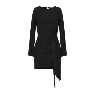 ジャッカ JUCCA ミニワンピース&ドレス ブラック 38 レーヨン 99% / ポリウレタン 1% ミニワンピース&ドレス