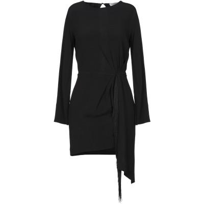 ジャッカ JUCCA ミニワンピース&ドレス ブラック 40 レーヨン 99% / ポリウレタン 1% ミニワンピース&ドレス