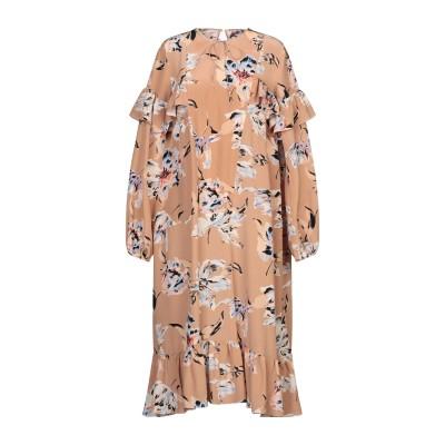 ロシャス ROCHAS 7分丈ワンピース・ドレス ローズピンク 44 シルク 100% 7分丈ワンピース・ドレス