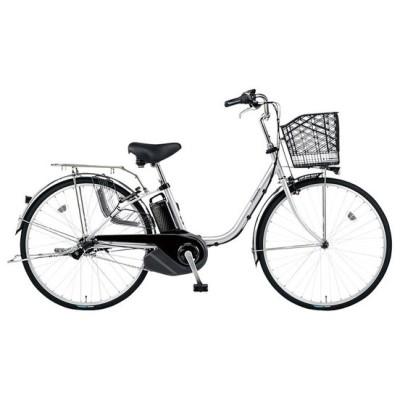 PANASONIC BE-ELSX432-S2 シャイニーシルバー ビビ・SX [電動アシスト自転車(24インチ・内装3段)] 電動自転車