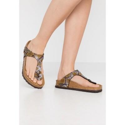 ビルケンシュトック サンダル レディース シューズ GIZEH - T-bar sandals - brown