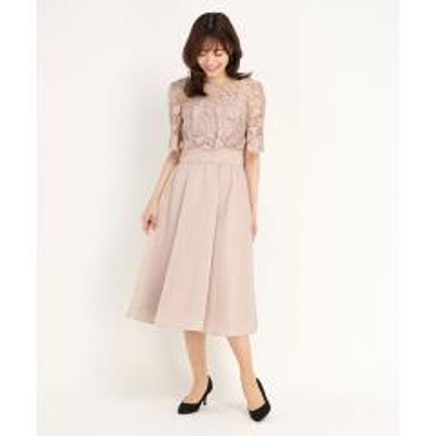 STRAWBERRY-FIELDS(ストロベリーフィールズ)DVシアーシャンタン ドレス