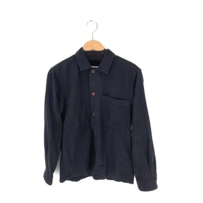 エムエイチエル MHL. ワークシャツ メンズ S 中古 古着 210614