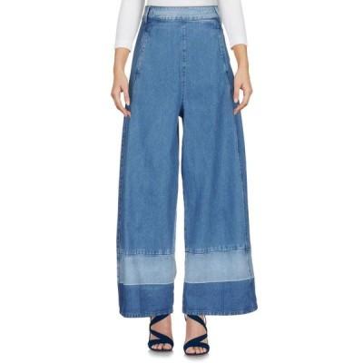 MY TWIN TWINSET ジーンズ ファッション  レディースファッション  ボトムス  ジーンズ、デニム ブルー