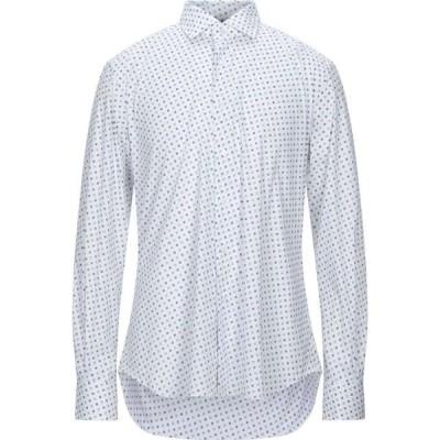 ザカス XACUS メンズ シャツ トップス Patterned Shirt White