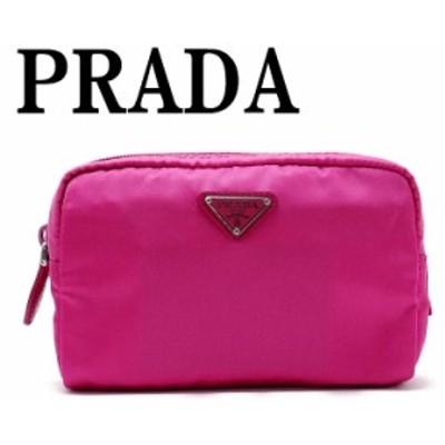 プラダ PRADA ポーチ コスメポーチ 化粧ポーチ 小物 ロゴ 1NA021-2BQP-F0029
