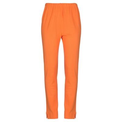STIZZOLI パンツ オレンジ 46 レーヨン 78% / ポリエステル 22% パンツ
