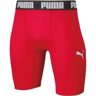 PUMA プーマ コンプレッション ジュニアショートタイツ 01PUMA RED-P 656334-01 サッカー