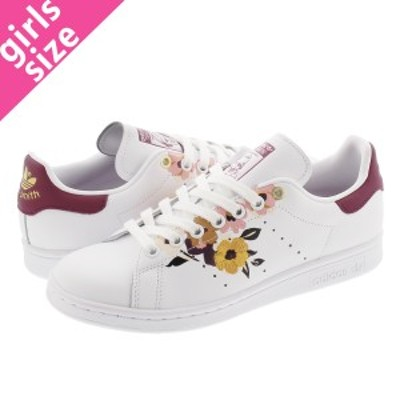 adidas STAN SMITH W FTWR WHITE/POWER BERRY/GOLD METALLIC