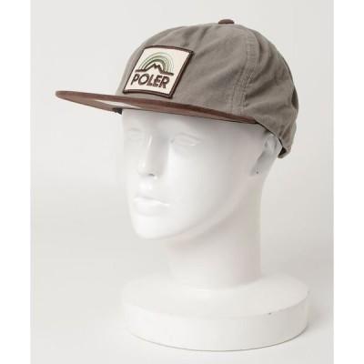 帽子 キャップ POLeR OUTDOOR STUFF/ポーラーアウトドアスタッフ  MOUNTAIN RAINBOW GRAMPA CORDY