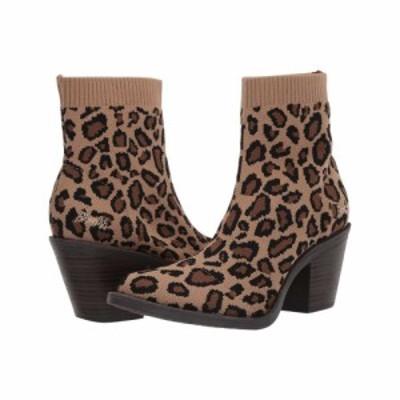 ブローフィッシュ Blowfish レディース ブーツ シューズ・靴 Luckey Leopard Knitty Kitty