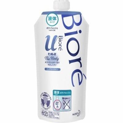 ビオレu ザ ボディ The Body 液体タイプ ピュアリーサボンの香り つめかえ用(340ml)[無添加ボディソープ・敏感肌ボディソープ]