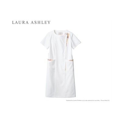 LAURA ASHLEY LW411 ナースワンピース(半袖)(女性用) ナースウェア・白衣・介護ウェア