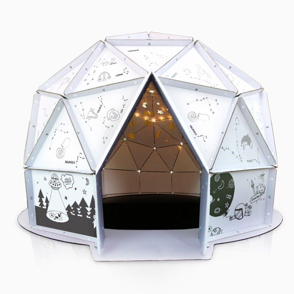 韓國 ANBOX 趣玩紙屋 我的小小星空屋