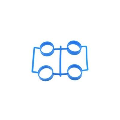 【ネコポス対応】イーグル(EAGLE)/MINI4-RT01-LBL/SP大径レーシングタイヤ内径23.5mm1.7mm厚:ミニ4(ライトブルー)