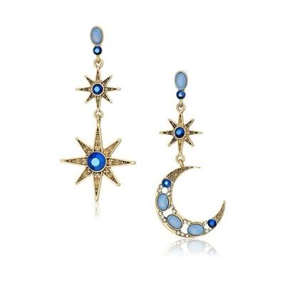 ベッツィ・ジョンソン ピアス アメリカ B12639-E01 Betsey Johnson Celestial Moon & Star Drop Ear